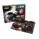 MSI Motherboard LGA 1150 B85-G43 Gaming (Merchant) - Motherboard Intel Socket Lga1150