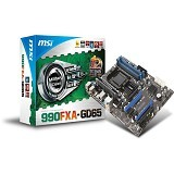 MSI Motherboard Socket AM3+ [990FXA-GD65] (Merchant) - Motherboard Amd Socket Am3 / Am3+