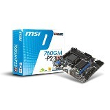 MSI Motherboards Micro ATX [760GM-P23 FX] (Merchant) - Motherboard Amd Socket Am3 / Am3+
