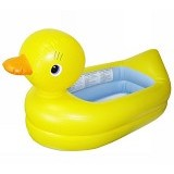 MUNCHKIN White Inflatable Safety Tub Duck - Yellow - Baby Bath Tub and Accesories