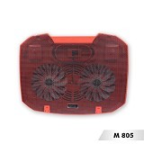 MURAGO Cooler [M805] - Red - Notebook Cooler