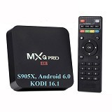 MXQ Pro Android TV Box PRO 4K KODI 1/8 GB  (Merchant) - Tv Set Top Box / Stb