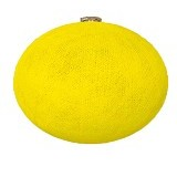 "MY JADE! STUFF Big Cotton Ball 13"" - Yellow - Lampu Gantung"