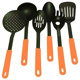 MY KITCHEN HELPER Kitchen Tools Nylon - Orange - Pisau Dapur Set