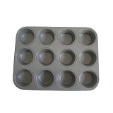 MY KITCHEN HELPER Muffin Pan 12 Cup