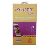 Myuser Tempered Glass Vivo V5 Plus - Clear (Merchant) - Screen Protector Handphone