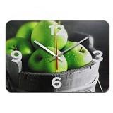 NAIL YOUR ART Jam Dinding Artistik Apple [NYA140904] - Green - Jam Dinding