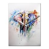 NAIL YOUR ART Jam Dinding Artistik Elephant [NYA150301] - Jam Dinding