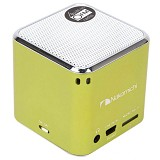 NAKAMICHI My Mini Plus Speaker with FM Radio - Green - Speaker Portable