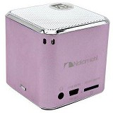 NAKAMICHI My Mini Plus Speaker with FM Radio - Pink - Speaker Portable