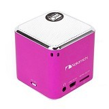 NAKAMICHI My Mini Plus Speaker with FM Radio - Pink
