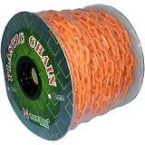 NANKAI Rantai Meteran Plastik PVC 6mm x 50m - Orange - Tool Set