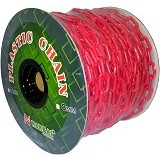 NANKAI Rantai Meteran Plastik PVC 8mm x 27m - Merah - Tool Set