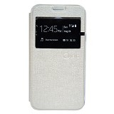 NANO Flip cover Samsung Galaxy Tab A/T350 [NanoFC632] - Cream (Merchant) - Casing Handphone / Case