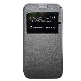 NANO Flip cover Samsung Galaxy Tab A/T350 [NanoFC635] - Gray (Merchant) - Casing Handphone / Case
