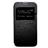 NANO Flip cover Samsung Galaxy Tab A/T550 [NanoFC637] - Black (Merchant) - Casing Handphone / Case