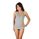 NATHALIE Flexible Tank Top Girls Size M [NTA 750] - Grey - Camisole and Tanks Top