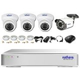 NATHANS CCTV Package 4 Channel - Cctv Camera