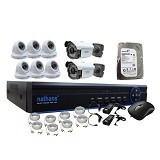 NATHANS CCTV Package 8 Channel - CCTV Camera