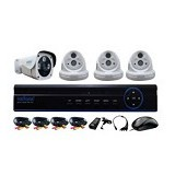 NATHANS Paket 4 Camera AHD 1.3MP [NHKIT-D402] - Cctv Camera
