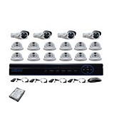 NATHANS Paket 16 Camera AHD 1.3MP - Cctv Camera