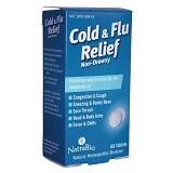 NATRA BIO Cold & Flu Relief (60 Tablet) - Obat Flu dan Batuk