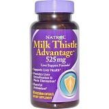 NATROL Milk Thistle Advantage 525mg 60 Veggie Caps [BMBIOCC-41] - Suplement Kesehatan Organ Hati