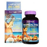 NATROL Tropical Thin Weight Loss Plan 60 Capsules [NTTWL60C] - Suplement Pelangsing Tubuh
