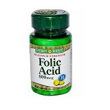 NATURE BOUNTY Folic Acid 800mcg - 250 Tabs - Suplement Otak