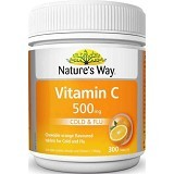 NATURE WAY Vitamin C 500mg Tab - 300 Tabs - Suplement Penambah Daya Tahan Tubuh