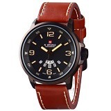 NAVIFORCE Watch [NF9028] - Brown - Jam Tangan Pria Casual