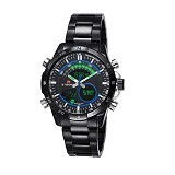 NAVIFORCE Watch [NF9031] - Black/Blue - Jam Tangan Pria Casual