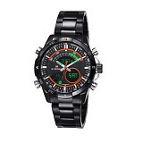 NAVIFORCE Watch [NF9031] - Black/Orange - Jam Tangan Pria Casual
