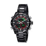 NAVIFORCE Watch [NF9031] - Black/Red - Jam Tangan Pria Casual
