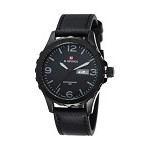 NAVIFORCE Watch [NF9039] - Black/Grey - Jam Tangan Pria Casual