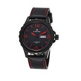 NAVIFORCE Watch [NF9039] - Black/Red - Jam Tangan Pria Casual