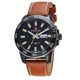 NAVIFORCE Watch [NF9040] - Brown - Jam Tangan Pria Casual