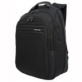 NAVY CLUB Expandable Backpack [8278] - Black - Notebook Backpack