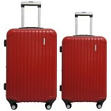 "NAVY CLUB Koper Fiber ABS 20"" Dan 24"" [8177] - Red - Koper"
