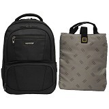 NAVY CLUB Ransel Laptop [5819] - Black - Notebook Backpack