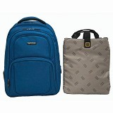 NAVY CLUB Ransel Laptop [5822] - Blue - Notebook Backpack