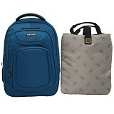 NAVY CLUB Ransel Laptop [5851] - Blue - Notebook Backpack