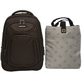 NAVY CLUB Ransel Laptop [5851] - Cofee - Notebook Backpack