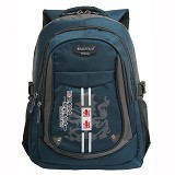 NAVY CLUB Tas Ransel Sekolah Kasual [6319] - Blue - Notebook Backpack