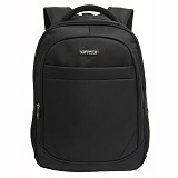 NAVY CLUB Waterproof Backpack [8299] - Black - Notebook Backpack