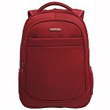 NAVY CLUB Waterproof Backpack [8299] - Red - Notebook Backpack