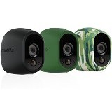 NETGEAR Arlo Camera Skin Set of 3 [VMA1200] - Green - Ip Camera Accessory