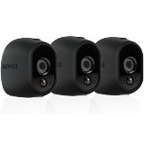 NETGEAR Arlo Camera Skin Set of 3 [VMA1200B] - Black - Ip Camera Accessory