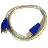 NETLINE Kabel USB Extension USB 1.5M - Cable / Connector Usb