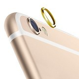 NEW STAR GADGET SHOP Rear Camera Lens Protector Protective Metal Ring iPhone 6 / 6S - Gold (Merchant) - Gadget Activity Device